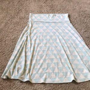 NWOT Slinky Knit LuLaRoe Azure Skirt